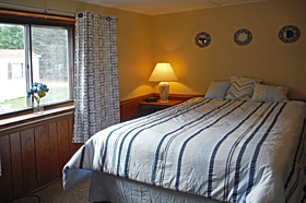 Second Bedroom in Helen's Place Rental at Scenic View Campground