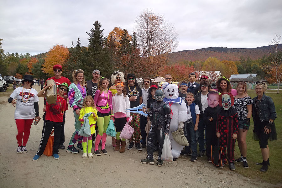 Halloween at Scenic View Campground